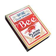 Biene Spielkarten 92 Bienen Marke fluoreszierende Anti-Fälschungs-Rote Karten (1 Paar)