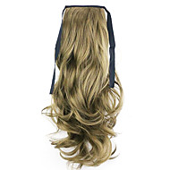 Black Length 50CM Factory Direct Sale Bind Type Curl Horsetail Hair Ponytail(Color 68)