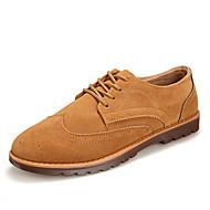 Men's Shoes Athletic Fleece Fashion Sneakers Black / Blue / Brown