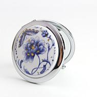 Compactos(Azul) -Tema vintage-Casamento 7*7*1.5cm Aço Inoxidável / Cerâmica