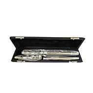 17 hul med e nøgle nikkel obturator fløjte, c tone produktion