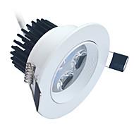 4W LED Encastrées 320-400 lm Blanc Froid LED Haute Puissance Décorative AC 85-265 V 1 pièces