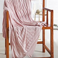 """Solid Knitted Blanket Bamboo Fiber  59""""*79"""""""