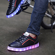 Women's Shoes  Flat Heel Ballerina / Novelty Fashion SneakersWedding / Outdoor /LED Shoes