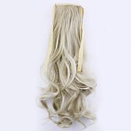 comprimento de ouro 50 centímetros venda direta da fábrica ligamento tipo de cabelo rabo de cavalo rabo de cavalo de onda (cor 24/60)