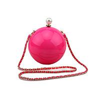 L.WEST Women's Handmade Acrylic Ball Evening Bag