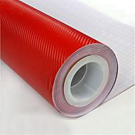 """lorcoo ™ 3D-Carbonfaser-Vinylfolie wickeln 12 """"x60"""" Blatt (freies Geschenk Rand Rakel und Messer)"""