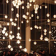 G4 10*21CM Line 1.5M Led Restaurants Bocci Droplight Aurora Borealis Modern Glass Lamp 1PC
