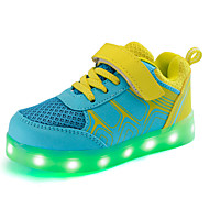 LED Shoes Boys' Shoes Athletic / Casual Synthetic Fashion Sneakers Yellow / Fuchsia / Orange