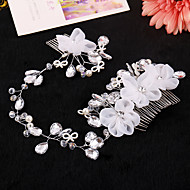 Women's Rhinestone / Tulle / Alloy Headpiece-Wedding / Special Occasion Headbands 1 Piece