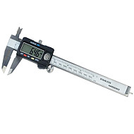 n&s® 150mm elektronisk digital verniercaliper instrument levelmeasuring verktøy