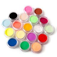 פיסול אמנות ציפורן צבע 18 גילוף 110g אבקת אקריליק