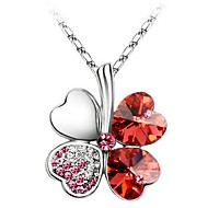 Thousands of colors  Women's Alloy Necklace Daily Crystal-1-170