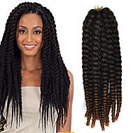 crochet trança havana mambo extensão do cabelo torção afro 12-24 polegadas preto ao castanho claro