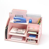 Uso de oficina(Rojo / Rosado / Blanco / Verde / Azul / Amarillo) -Tema Clásico-No personalizado 32*19*24.5cm Madera