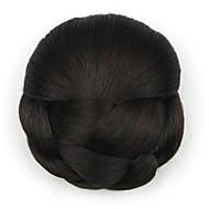 verworrene lockige europa braun Braut Chignons menschliches Haar capless Perücken dh102 2/33