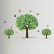 חיות / בוטניקה / רומנטיקה / דוממים / אופנה / פרחים / נופש מדבקות קיר מדבקות קיר מטוס,PVC 90*60*0.1
