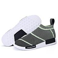 Tasapohjakengät-Miesten kengät-Tyll-Musta / Vihreä / Pinkki-Ulkoilu / Rento