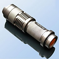 Mini Zoom Flashlight LED (Random Colors)