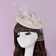 Dam / Blomflicka Lin Headpiece-Bröllop / Speciellt Tillfälle Fascinators 1 st.
