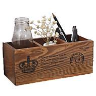 קופסאות אחסון מדפסות משולבות,Wood