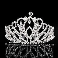 Women's Rhinestone Headpiece-Wedding Special Occasion Tiaras 1 Piece