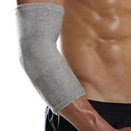 רצועת מרפק תמיכת ספורט הלבשה קלה / תרמית / חם / מגן כושר וספורט אפור