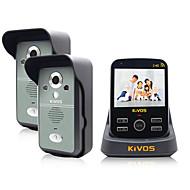 doméstico campainha sem fio de alimentação kivos ligar campainha elétrica dois arrastar um vídeo de bloqueio da câmera de intercomunicação