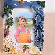 "6""Resin Picture Frame for Home Decoration(Random Color)"