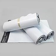 17 * 30cm laiteux épais sacs de courrier en plastique imperméable à l'eau