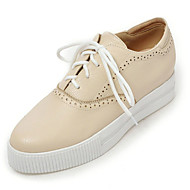 Women's Shoes Spring/Summer/Fall/Winter Heels/Platform/Creepers/Round Toe Oxfords Dress/Casual Platform Lace-up