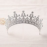 Women's Rhinestone / Alloy Headpiece-Wedding Tiaras / Headbands 1 Piece