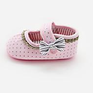 Meisjes Baby Platte schoenen Eerste schoentjes Wiegschoenen Weefsel Lente Zomer Herfst Causaal Eerste schoentjes Wiegschoenen Haak & Lus