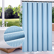 "Modern Solid  Multicolor Thickening Shower Curtains W71""×L79"""
