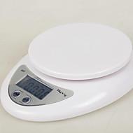 B05 minikjøkken elektroniske vekter, medisinske urter skalaer, flytende vekter (engelsk 5000g-1G)