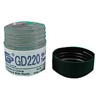 cmpickのgd220グレー重量樽サーマルグリースの20グラム
