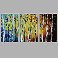Iarts Modern Abstract Painting 3 Sets Group Acrylic Art Home Decor Stretchered Ready To Hang 60x30x3pcs