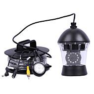 20meters de segurança CCTV 0-360 ° 12pcs IR LEDs câmera de vídeo localizador de pesca submarina câmera de vídeo peixes