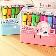 ペン 水の色のペン,プラスチック ランダム色