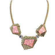 Exaggerated Personality Irregular Geometric Necklace Jewelry Accessories