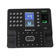 reconhecimento facial máquina de atendimento 1500 frente da máquina de controle de acesso máquina de impressão digital comparecimento