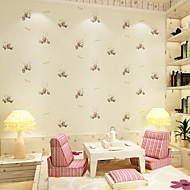 Art Deco Tapete Für Privatanwender Zeitgenössisch Wandverkleidung , Reines Papier Stoff Klebstoff erforderlich Tapete ,