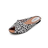 obuwie damskie libo nowym stylu mieszkania obcas sexy słoneczny dzień sandały złote / Leopard / czarny / biały