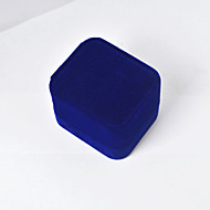 Jewelry Boxes Fabric 1pc Blue
