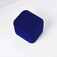 Ékszerdobozok Anyag 1db Kék