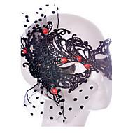 Stilul sey negru masca / dantelă albă pentru Halloween decorare partid masker bal mascat