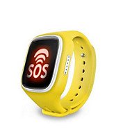 Touch-Screen-Handy Uhr-Handy intelligente Kinder GPS-Locator wasserdichte Karte Mikro-Chat