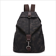 Casual Backpack Women Canvas Blue Red Gray Black Khaki