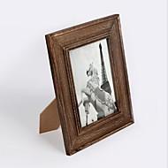 מסגרות לתמונות מסורתי / רטרו מלבני,עץ 1 2.0x2.8cm