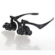 Lupen / Mikroskop Schmuck / Uhren Reperatur Generisches / LED / Steuersatz 10X / 15X / 20X / 25X 15mm Normal Kunststoff
